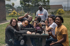 Syrauce to South Africa – Behind the Scenes-10.jpg (Newhouse Center for Global Engagement) Tags: syracuseuniversity 2017 syracusetosouthafrica inkululeko newhousempd hildebrand grahamstown visualstorytelling sa southafrica