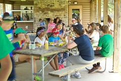 Tween Creeks picnic pavilion