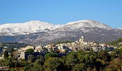 village de Saint-Paul-de-Vence (b.four) Tags: village paese montagna mountain montagne neige snow neve saintpauldevence alpesmaritimes coth5