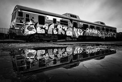 Ribadulla (Noel F.) Tags: sony a7r a7rii ii fe 24105 graffiti street art tag train bombing santa cruz ribadulla vedra galiza galicia estacion