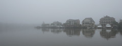 Fading away into the fog (Monceau) Tags: tchefuncte tchefuncteriver fog fadingaway calm peaceful quiet madisonville louisiana river houses 364365 365picturesin2018 365the2018edition 3652018 day364365 30dec18 music odc foggyriver song