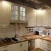 カントリー風イケアのキッチンの写真