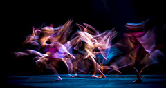 Essence of Dance (sherry landon non stop creations) Tags: ballet rehearsal motion blur pink purple blue sherry landon non stop creation essence dance truesurrey
