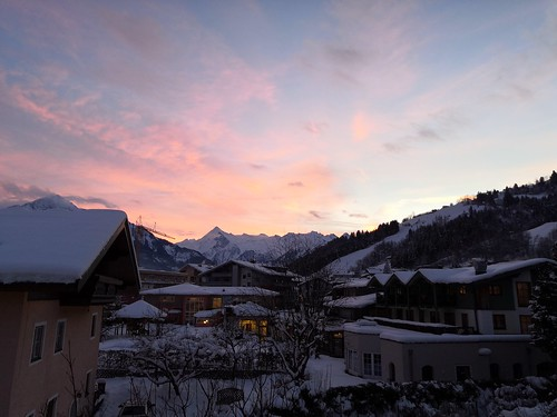 Abendstimmung in Zell am See