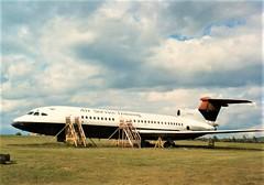 Trident 1C (Gerry Rudman) Tags: hawker siddely dehavilland trident 1c garpx perth scone air service training bea british airways