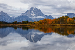 Snake River Reflection (My Americana) Tags: grandtetonnationalpark teton nationalpark np snakeriver autumn reflection mountain scenic landscape