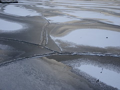 """""""If ice can burn, then love and hate can mate."""" -  George R. R. Martin (Trinimusic2008 -blessings) Tags: trinimusic2008 judymeikle nature ice abstract today january 2019 winter neighbourhood marina toronto to ontario canada patterns icy gratitude smile happiness"""