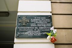 Warsaw (Hilari Flynn) Tags: warsaw film analog 35mm poland europe minoltax700 trip kodakfilm analogue carrete filmisnotdead filmisalive lovefilm war varsovia polonia mariecurie history
