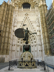 Seville Cathedral, Seville, Spain (geoff-inOz) Tags: seville cathedral catholic spain heritage building historic gothic architecture