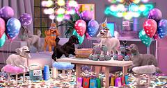 Majesty- Adorable's Poodle Party (Ebony (Owner Of Majesty)) Tags: jian epiphany mudhoney majesty majestysl majestyinteriors majesty2019 interiordecor interiordecorating interiors interiordesign party celebrations poodles pets homedecor homeandgarden homes homesweethome home homey decor decorating virtual virtualliving virtualspaces virtualservices videogames secondlife sl haikei trompeloeil dustbunny