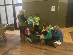 Scouts earn product designer badges at UW-Green Bay - 12/1/2018