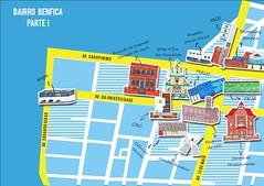 mapa1 (Juliana Almeida Chagas) Tags: mapa benfica pixação graffiti fortaleza rua ufc gentilândia