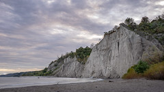 Scarborough Bluffs (akibamir9) Tags: toronto nature landscape scarborough bluffs cliffs beach dusk scenic canada scarboroughbluffs travel wideangle