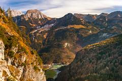 Blick von der Grünsteinhütte (1220m) ins Tal Königssee 2 (Obachi) Tags: grünstein berchtesgarden flickr königssee hohes brett jenner hohesbrett