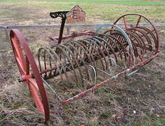 The Stamford Horse Rake (Snapshooter46) Tags: blackstoneandcompany stamford horserake agriculturalmachinery
