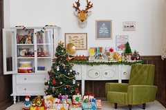 [Advent] - Roombox (Moonrabbit_ly) Tags: christmas miniature christmastree diorama rement dollhouse doll toy
