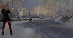 One of those moments (Teddi Beres) Tags: second life sl virtual heels boots winter snow footwear style fashion trees