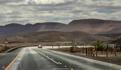 N1 to cape town windshield starburst (mahesh.kondwilkar) Tags: africa highway n1 road southafrica westerncape
