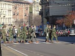 Milano (31) (pensivelaw1) Tags: italy milan statues trump starbucks romanruins thefinger trams cakes architecture