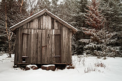 Old Wooden Fishing Hut By The Forest (k009034) Tags: 500px wooden copy space europe finland pyhäjoki scandinavia tranquil scene architecture beach birch branches bulding cold door fishing forest frost hut lock nature no people nordic countries north old rock rural scenic sea shore snow support trees winter teamcanon copyspace tranquilscene nopeople nordiccountries