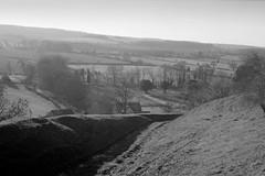 View of Stonegrave (jhotopf) Tags: mediumformat berggerpmk pmk zeisssuperikonta ilfordfp4 blackwhite 5302 noiretblanc blancoynegro