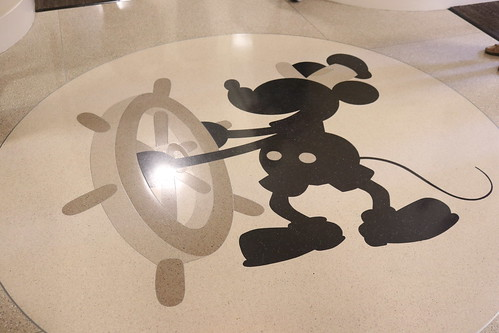 "Steamboat Willie in the Animation Building at Walt Disney Studios • <a style=""font-size:0.8em;"" href=""http://www.flickr.com/photos/28558260@N04/31960101158/"" target=""_blank"">View on Flickr</a>"