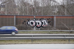 random graffiti (Thomas_Chrome) Tags: graffiti streetart street art spray can wall walls tampere suomi finland europe nordic illegal vandalism highway motorway expressway chrome