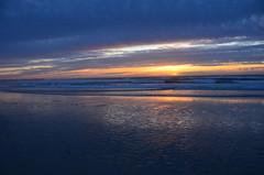 Color at the horizon (afagen) Tags: california pacificgrove asilomarstatebeach montereypeninsula asilomar beach pacificocean ocean sunset dusk
