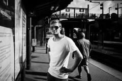 Oscar 2018-07-11 (Michael Erhardsson) Tags: köpenhamn 2018 juli porträtt svartvitt