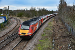 43295 + 43249 - March West Junction - 12/01/19. (TRphotography04) Tags: london northeastern railways lner hst 43295 43239 pass march west junction with diverted 1s11 0846 kings cross aberdeen