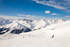 Mayrhofen, Austria (jamesalexandermichie) Tags: snow skiing winter austria snowy mountains landscape sky blue snowfall snowcapped ski mayrhofen