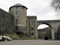 Turret and arches, Citadelle, Namur, Belgium (Paul McClure DC) Tags: namur namen belgium belgique wallonia wallonie feb2018 historic architecture castle citadel ardennes