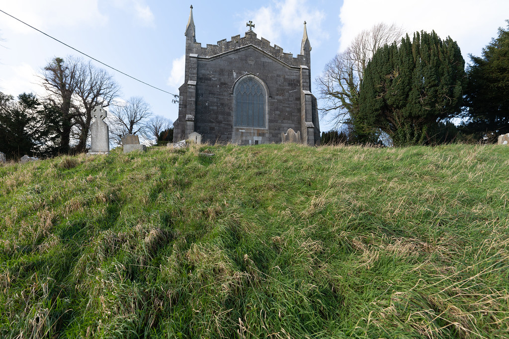 ST COLUMBA'S CHURCH AND GROUNDS IN SWORDS COUNTY DUBLIN [CHURCH ROAD]-148810