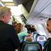 Faces on Air Canada: disembarkment rush