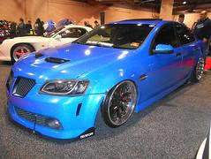 2009 Pontiac G8 (splattergraphics) Tags: 2009 pontiac g8 slammed customcar carshow dubshow philadelphiaautoshow pennsylvaniaconventioncenter philadelphiapa