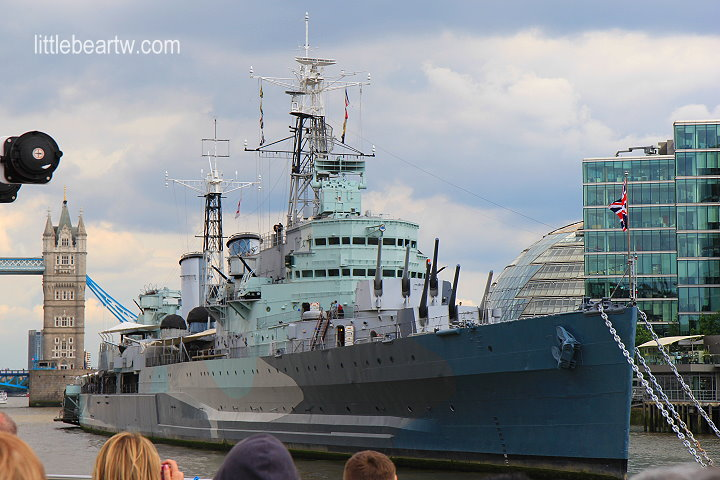泰晤士河遊船Thames Citycruise-24