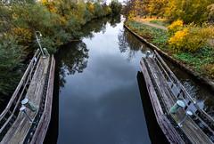 Uppsala, October 16, 2018 (Ulf Bodin) Tags: höst sverige kungsängsleden bridge reflection canonef1635mmf4lisusm water fyris sweden outdoor bro canoneosr autumn uppsala uppsalalän se