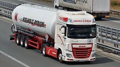 D - Kielholz & Rybicki DAF XF 106 SSC (BonsaiTruck) Tags: spitzer kielholz rybicki daf lkw lastwagen lastzug silozug truck trucks lorry lorries camion caminhoes silo bulk citerne powdertank