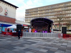 Shopmas Lights Switch On, Gwent Square, Cwmbran 14 November 2018 (Cold War Warrior) Tags: christmas xmas shopping shopmas cwmbran