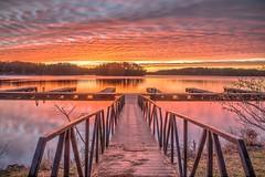 Sunrise, Little Hall Park (Yer Photo Xpression) Tags: ronmayhew canoneos5dmarkiv sunrise cloud sky water lake lakelanier dock ramp