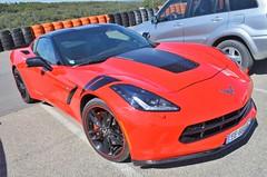 Chevrolet Corvette C7 Sting Ray (benoits15) Tags: chevrolet corvette stingray c7 american car supercar red ledenon