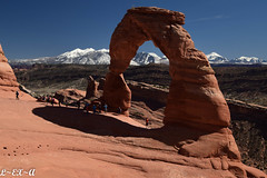 Delicate Arch (Long Exposure Art (L~EX~A)) Tags: travel nationpark arches arch delicatearch utah moab tamron nikon nature hiking tamron18400 nikond5300