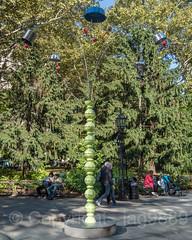 """Kitchen Tree"" Sculpture (2018) by B. Wurtz, City Hall Park, New York City (jag9889) Tags: 2018 20181031 al aluminium aluminum art artwork cityhall exhibit exhibition installation kitchen kunst lowermanhattan manhattan ny nyc nycparks newyork newyorkcity newyorkcitydepartmentofparksrecreation outdoor park people plastik publicartfund publicpark sculpture skulptur stainless steel temporary tree usa unitedstates unitedstatesofamerica vegetables fruit jag9889"