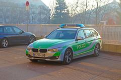 Munich State Police Interceptor (SaveLive_TV) Tags: police polizei polizeiauto landespolizei bundespolizei autobahnpolizei bereitschaftspolizei bmw 320d 3er einsatz emergency einsatzfahrzeug einsatzleitung einsatzstelle einsatzfahrt funkstreifenwagen fustw hella rtk7 munich münchen bayern bavaria