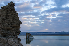 20140123_mono_lake_009 (petamini_pix) Tags: monolake california tufa lake sky reflection clouds landscape water