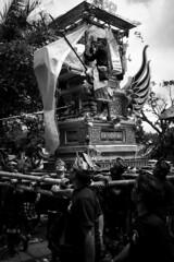 When Stuck in Traffic Make Photographs (Bali Street Photographer) Tags: x100s fujifilm cremation traditionalcostume bali ngaben streetphotography ubud balistreetphotographer upacara ceremony
