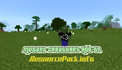 Mutant-Creatures-Add-on (ResourcePack.info) Tags: mutantcreatures resourcepack installationguide changelogs addon