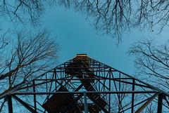 Fire Tower at Saint Croix State Park - Minnesota (Tony Webster) Tags: minnesota saintcroixstatepark stcroixstatepark firetower lookout winter