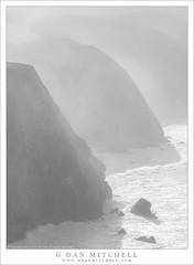 Morning, Fog, Surf (G Dan Mitchell) Tags: bigsur morning light fog mist surf waves highkey bright coast storm cliff headlands seastack beams seascape landscape nature california usa north america