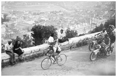 1947 Tour de France. (Paris-Roubaix) Tags: fermo camellini italian bicycle racer tour de france netherlandsetrangers team 1947 vintage racing stage